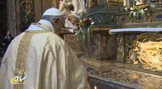 Pape François - Pope Francis - Papa Francesco - Papa Francisco - Fête de St Ignace 2013 - Prière à la Chiesa del Gesù