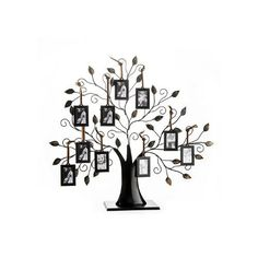 Family Tree Picture Frame With 10 Frames. The frame opening is x Family Tree with 10 photo frames. Crafted of fine metal material. Family Tree Picture Frame With 10 Hanging Picture Frames. Each frame holds one photo. Family Tree Picture Frames, Picture Frame Display, Family Tree With Pictures, Hanging Picture Frames, Hanging Pictures, Family Trees, Photo Tree, Picture Photo, Picture Tree