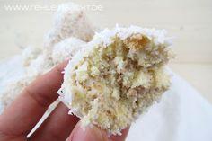 Schneebälle   Kokostorten Cake Balls   Foodblog rehlein backt