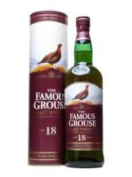 FAMOUS GROUSE 18 YEAR OLD: This special 18 year old expression from Famous Grouse is actually a blended malt, meaning there is no grain whisky in this.  Nose: Christmas cake, macerated dried fruits and a big dollop of butter.  Palate: Raisins, dates and figs with a creamy mouth-feel.  Finish: Melted dark chocolate comes to mind with a pinch of nutmeg.  Overall: An excellent blended malt from the chaps at Famous Grouse.