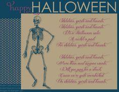 My Digital Studio, MDS, Halloween, Skeleton