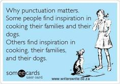 Why punctuation matters...