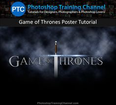 Photoshop tutorial that will teach you how to create the Game of Thrones poster using simple techniques that will get you amazing results.
