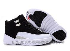 best cheap b7975 ffea5 New Kids Air Jordan 12 White Black. Cheap Jordans ...