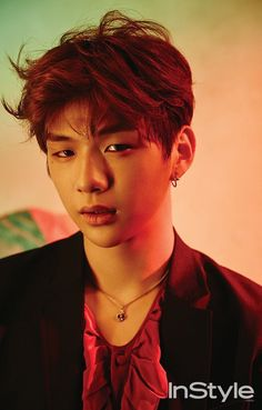 Photo )) Wanna One Kang Daniel for October issue of Instyle Magazine 2017 Marie Claire, Swing, Daniel K, Produce 101 Season 2, Instyle Magazine, Kim Jaehwan, Ha Sungwoon, Jinyoung, South Korean Boy Band