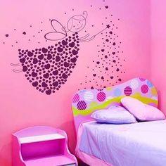 paredes decoradas para habitacion de niña - Buscar con Google