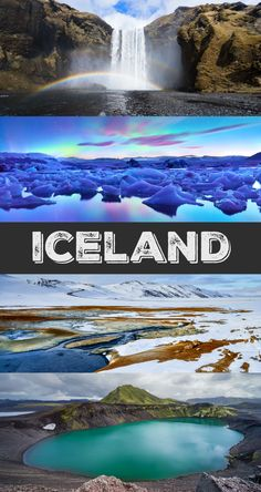 34 Epic Things to See and Do in Iceland: If you love nature + jaw dropping landscapes, add Iceland to your travel bucket list. See the Northern Lights, waterfalls, glaciers, mountains, alpine lakes, and so much more.