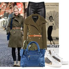 """""""Military look"""" by prettynpink1632 on Polyvore"""