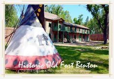 Explore historic Fort Benton - the birthplace of Montana.