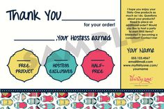 Thirty-One Thank You Bag Tags
