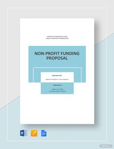 Instantly Download Nonprofit Fundraising Proposal Template, Sample & Example in Microsoft Word (DOC), Google Docs, Apple Pages Format. Available in A4 & US Letter Sizes. Quickly Customize. Easily Editable & Printable. Nonprofit Fundraising, Cute Notes, Proposal Templates, Google Docs, Cover Template, Word Doc, Microsoft Word, Non Profit