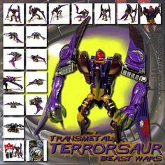 Transformers Universe - Beast Wars Transmetal Terrorsaur