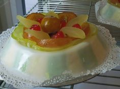 Image of a classical Sicilian dessert known as Cassata.  It is made with a ricotta filling, similar to a cannoli.