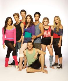 I love the show 'Dance Academy' This is an Australian television show. I'm obsessed.