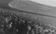 Inauguração do Maracanã (1950) Ainda com obras pendentes.