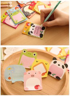 Notebooks & Writing Pads Adaptable Cute Kawaii Cartoon Animal Finger Unicorn Memo Pad N Times Sticky Note Paper Korean Stationery Cat Planner Sticker School Office