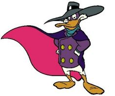 I wasn't actually a fan of Darkwing Duck, but it was on our TV every day after school, courtesy of my brother...along with Chip 'N Dale, Duck Tales, and TaleSpin.