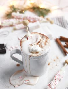 Creamy Hot Chocolate @themerrythought