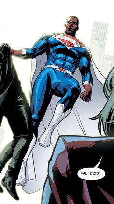 Earth 2: Society Vol 1 #17 (2016) // DC ComicsSuperman (Val-Zod) Story: Dan Abnett, art: Bruno Redondo Get it now here [Follow SuperheroesInColor faceb / instag / twitter / tumblr / pinterest]