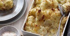 Baked Cauliflower Cheese Gratin