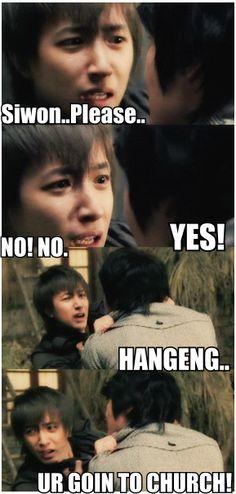 Funny Kpop macros: Super Junior Siwon