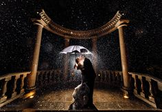 Just in case of rain...here is a few cute ideas for photos. 30 Romantic Rainy Wedding Day Photos