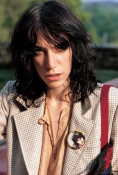 Patti Smith. Possible style for Kafira.