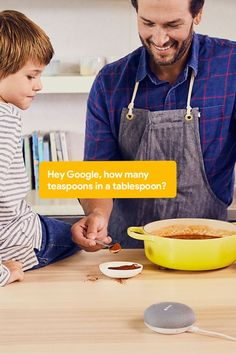 With #GoogleHome Mini in the kitchen, at least someone knows what they're doing.