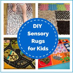 A whole host of DIY Sensory Rug inspiration from Montessori Nature. What a lovely present for a new baby!