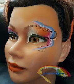 Eye Design Koningsdag door Schminkkoppies