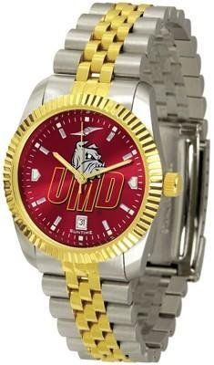 Minnesota (Duluth) Bulldogs Executive AnoChrome Men's Watch by SunTime. $139.95. Men. Officially Licensed Minnesota Duluth UMD Bulldogs Men's Stainless Steel Alumni Dress Watch. AnoChrome Dial Enhances Team Logo And Overall Look. Stainless Case With 23kt Gold-Plated Bezel. Links Make Watch Adjustable. The ultimate NCAA Minnesota (Duluth) Bulldogs fan's statement, our Executive timepiece offers men a classic, business-appropriate look. Features a 23KT gold-plated b...
