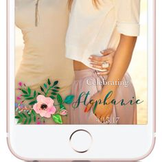 Celebrating Bridal Shower Custom Snapchat Geofilter, Bridal Shower Geofilter   | W H Y C H O O S E B E A U T I F U L L Y F I L T E R E D ? |  The difference between choosing Beautifully Filtered to create your next Snapchat Geofilter versus the other guys is because I give the customer little to no requirements when creating the design. The photos you see in my shop are simply ideas, examples, or designs that have already been approved by Snapchat and used.  If you want a red, white, and…