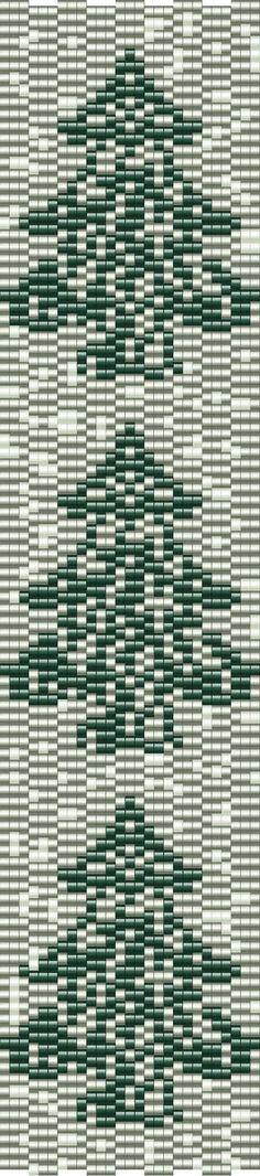 Vezsuzsi gyöngyei: minta-pattern... beautiful tree pattern