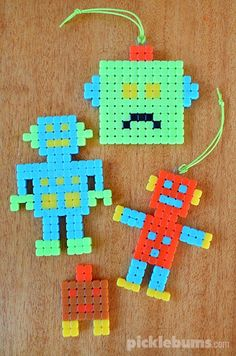 Quiet time activities - design a robot
