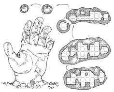 Dyson Logos's G+ account is an endlessly scrolling inventory of hand-drawn D&D maps, each one cooler than the last.