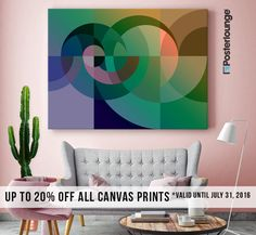 ★ Get up to 20% OFF all canvas prints on Posterlounge until July 31, 2016 ➤ https://www.posterlounge.co.uk/artists/edrawings38/ ★ (*FREE Shipping to Germany)  #wallart #walldecor #art #canvasprint #sale #home #interior #offer #abstract #geometric #design #canvas #edrawings38 #posterlounge