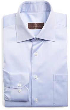 Men's Robert Talbott Classic Fit Dress Shirt Fitted Dress Shirts, Shirt Dress, Oxford White, Fashion Online, Nordstrom, Just For You, Stylish, Classic, Fitness