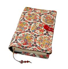 Fabric Bible Cover Handmade Book Cover Vintage by WhimsyWooDesigns