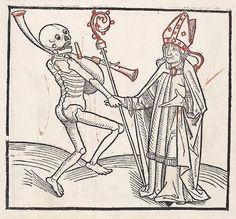 Heidelberger Totentanz Heidelberg: Heinrich Knoblochtzer, nicht nach 1488 GW M47257  Folio 3v