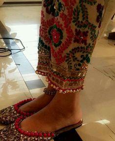 Punjabi jutti. #studs #awesome #design #unique.