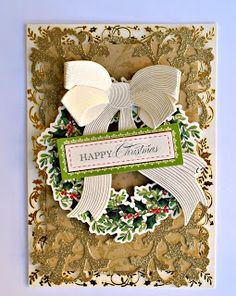 Shemaine Smith's christmas card design for Anna Griffin