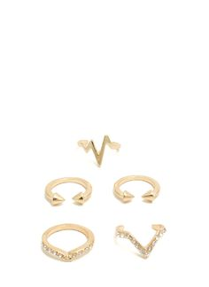 EKG Five Ring Set - GoJane.com