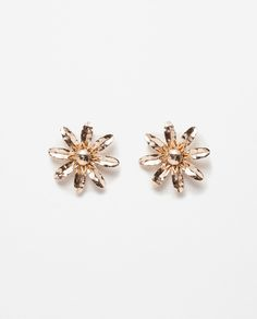 FLORAL EARRINGS-Jewellery-ACCESSORIES-WOMAN | ZARA United States