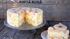 Romanian Food, Hungarian Recipes, Yams, Vanilla Cake, Sweet Treats, Cheesecake, Mousse, Food And Drink, Caramel