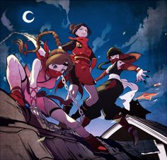 Ty Lee, Azula, and Mai. I just read Smoke and Shadow, so I'm  feeling these three right now.