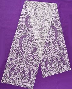 Одноклассники Bobbin Lace Patterns, Crochet Patterns, Lacemaking, Point Lace, Lace Scarf, Hand Quilting, Irish Crochet, Crochet Doilies, Vintage Lace