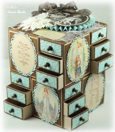 Taras Studio - Advent Calendar Pazzles Challenge Dec 2012 img 7 - I soooo want to make this!