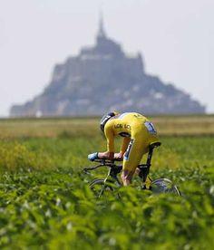 Tour de France 2013第11ステージ モンサンミシェルタイムトライアル『クリス・フルーム (Sky) 』