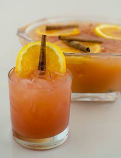 Mandarine Napoléon: Marengo's Punch Recipe:8 oz Mandarine Napoléon  6 oz Cranberry Juice  4 oz Orange Juice  2 oz Lemon Juice  6-8 Dashes of Bitters  Garnish: Orange wheels and cinnamon sticks