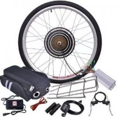 Brushless Electric Bicycle Motor, Front Wheel Hub Kit for the mixte build Electric Bike Kits, Electric Motor, Electric Cars, Survival Aids, Bike Engine Kit, Old Bikes, In Case Of Emergency, Bike Accessories, Alternative Energy